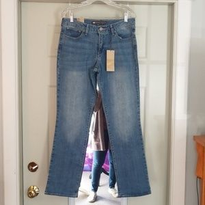 Levi's size 12 NWT Bold curve straight jeans